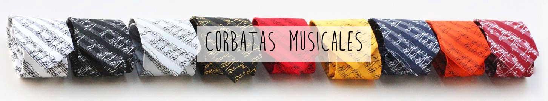Corbatas musicales