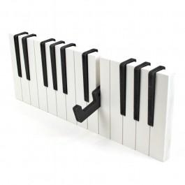 Colgador de pared piano