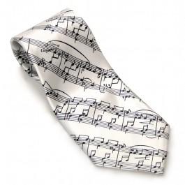 Corbata blanca partitura