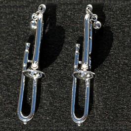 Pendientes 3D Trombón