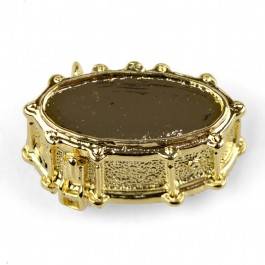 Pin Caja de Batería dorado