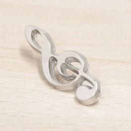 Pin Clave de Sol metal