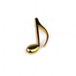 Pin Corchea dorado