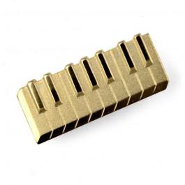 Pin Teclado dorado