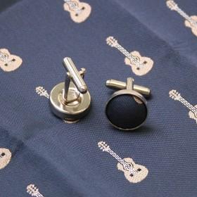 Conjunto corbata, pañuelo y gemelos Guitarra Clásica