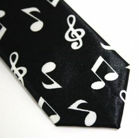 Corbata notas musicales