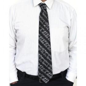 Corbata negra partitura