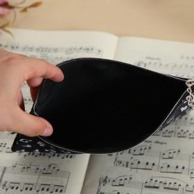 Estuche notas rectangular negro