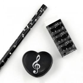 Fantasía musical notas set 1
