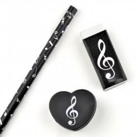 Fantasía musical notas set 3