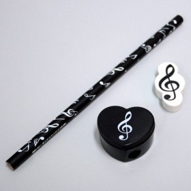 Fantasía musical notas set 2
