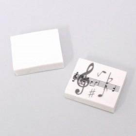 Goma Notas Musicales (10 unidades)