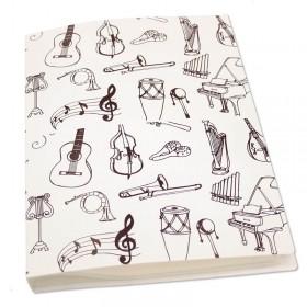 Carpeta Instrumentos fundas flexibles A4