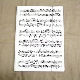 Carpeta A4 partitura blanca