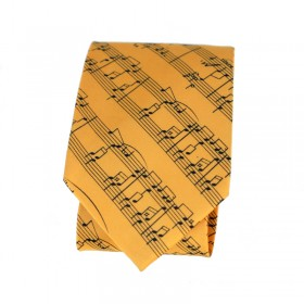 Corbata amarilla partitura