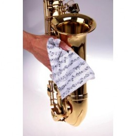 Gamuza microfibra limpieza instrumentos