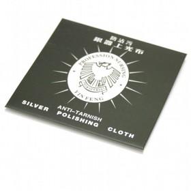 Paño limpiador plata
