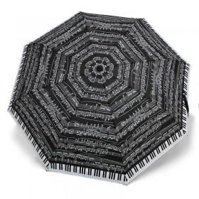 Paraguas Piano negro plegable