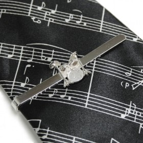 Pasador de corbata Batería