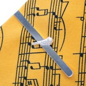 Pasador de corbata Micrófono