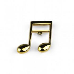 Pin Semicorchea dorado