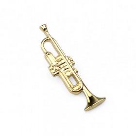 Pin Trompeta dorado