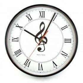 Reloj de pared Clave de Sol
