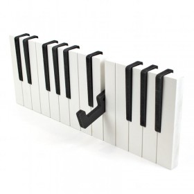 Colgador de pared piano