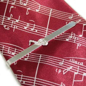Pasador de corbata Saxo