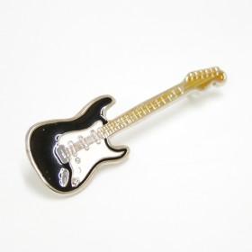 Pin Guitarra Stratocaster negra