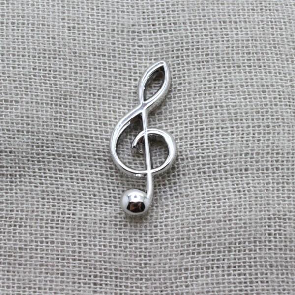 Pin musical con forma de Clave de Sol