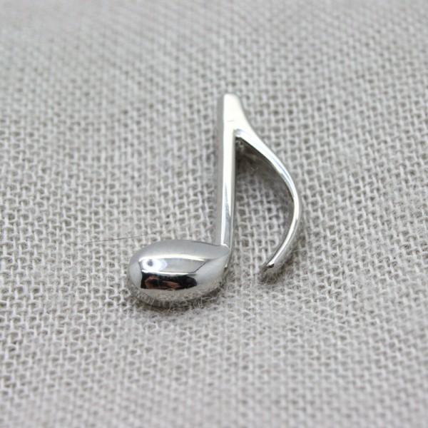 Pin musical con forma de Corchea