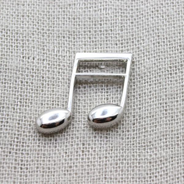 Pin musical con forma de Semicorchea