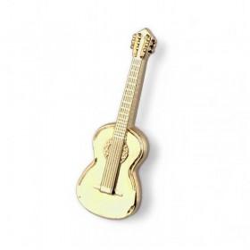 Pin Guitarra Clàssica daurat