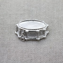 Snare drum 3D Lapel Pin