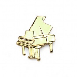 Piano Lapel Pin (gold-plated)