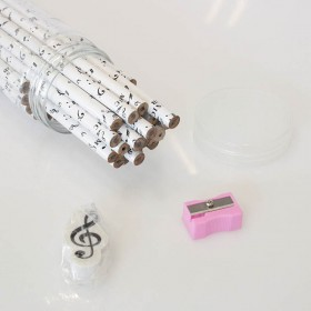 Music notes pencil pot (36 units)
