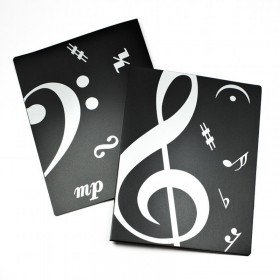 Treble and Bass Clef A4 Display Book