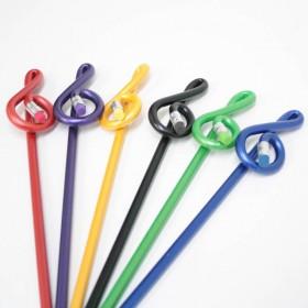 Treble Clef pencil, colors
