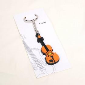 Violin keyring