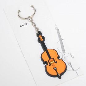 Violoncello Keychain