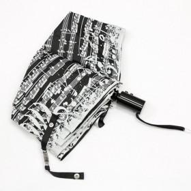 Black Music Score Umbrella