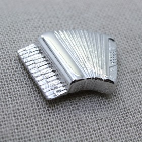 Accordion 3D Lapel Pin