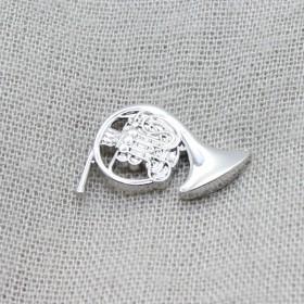 Horn Lapel Pin