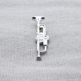 Trumpet Lapel Pin