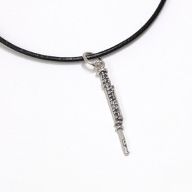Flute Pendant Sterling Silver