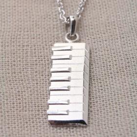 Keyboard 3D Pendant