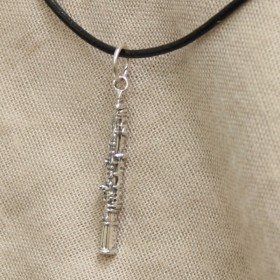 Oboe Pendant Sterling Silver