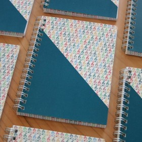 Treble Clef Notebook A6 Summer series