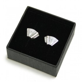 Accordion mini earrings (sterling silver)